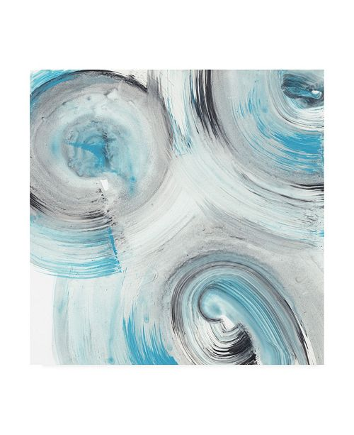 "Trademark Global Ethan Harper Ripple Effect V Canvas Art - 19.5"" x 26"""