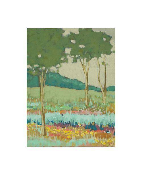 "Trademark Global Chariklia Zarris Tapestry Trees II Canvas Art - 27"" x 33.5"""