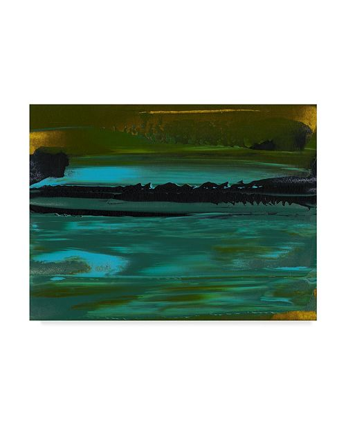 "Trademark Global Sharon Gordon Deconstructed View III Canvas Art - 37"" x 49"""