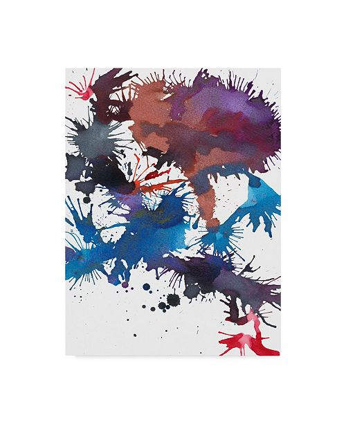 "Trademark Global Jodi Fuchs Fireworks I Canvas Art - 20"" x 25"""