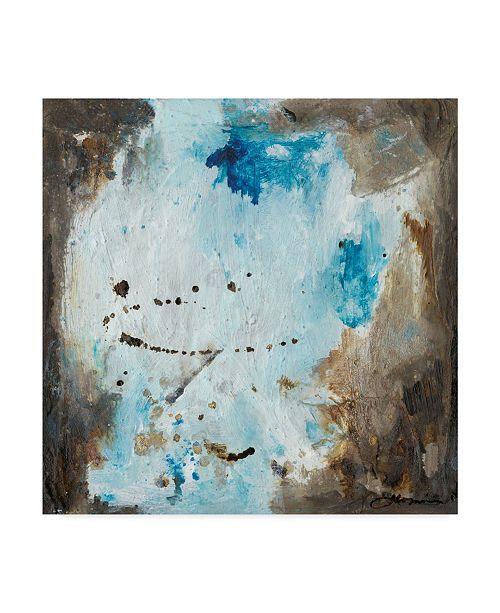"""Trademark Global Joyce Combs Blue Cliffs I Canvas Art - 15"""" x 20"""""""