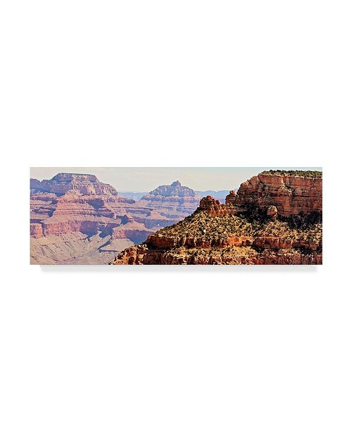 "Trademark Global Sylvia Coomes Grand Canyon Panorama V Canvas Art - 20"" x 25"""