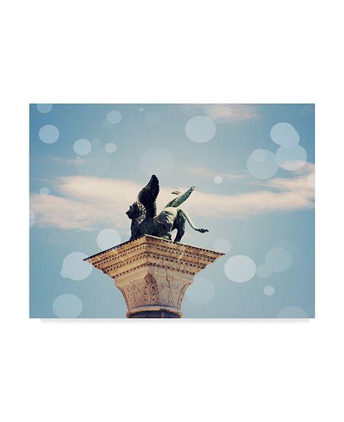 "Trademark Global Sylvia Coomes Venice Bokeh XI Canvas Art - 37"" x 49"""