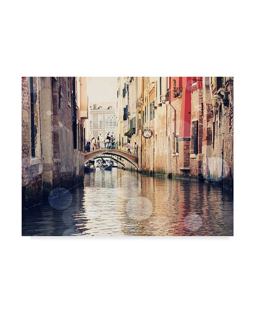 "Trademark Global Sylvia Coomes Venice Bokeh XIV Canvas Art - 20"" x 25"""