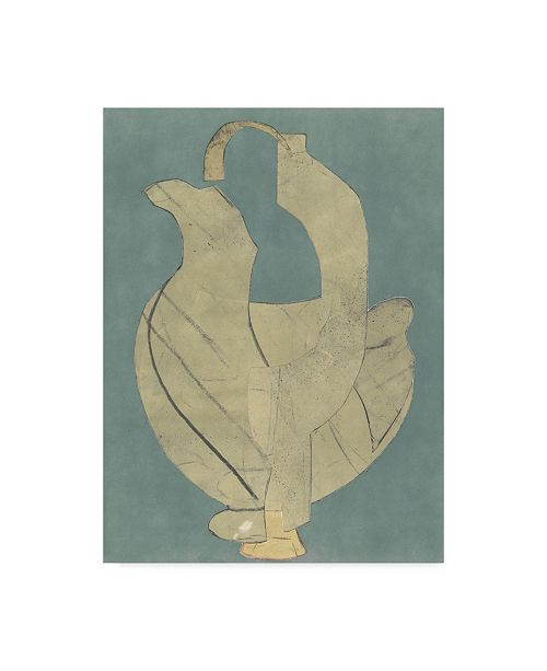 """Trademark Global Rob Delamater Abstract Vessel II Canvas Art - 37"""" x 49"""""""