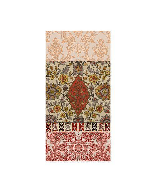 "Trademark Global Vision Studio Bohemian Tapestry I Canvas Art - 20"" x 25"""