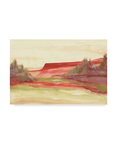 "Trademark Global Chris Paschke Red Rock V Canvas Art - 37"" x 49"""