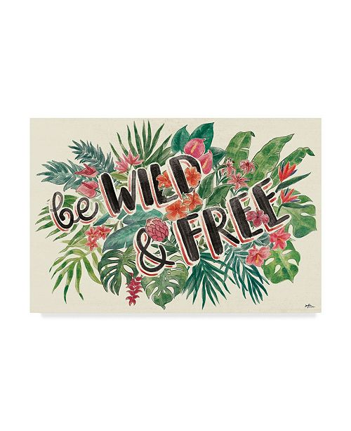"Trademark Global Janelle Penner Jungle Vibes VI Canvas Art - 15"" x 20"""