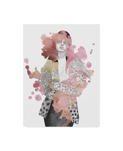 "Trademark Global Naomi Mccavitt Fashion Illustration I Canvas Art - 37"" x 49"""