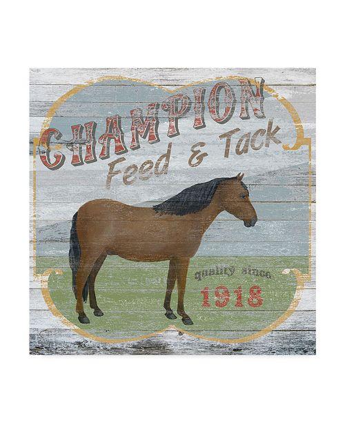 "Trademark Global June Erica Vess Farm Supply I Canvas Art - 15"" x 20"""