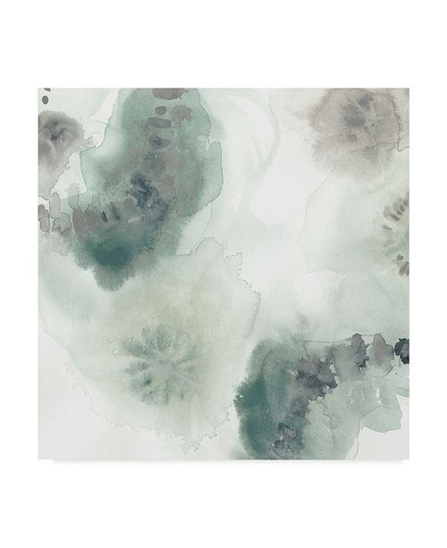 "Trademark Global June Erica Vess Lily Pad Watercolor I Canvas Art - 27"" x 33"""