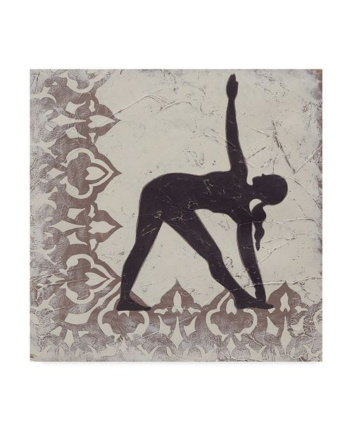 "Trademark Global Chariklia Zarris Yoga Bliss I Canvas Art - 27"" x 33"""