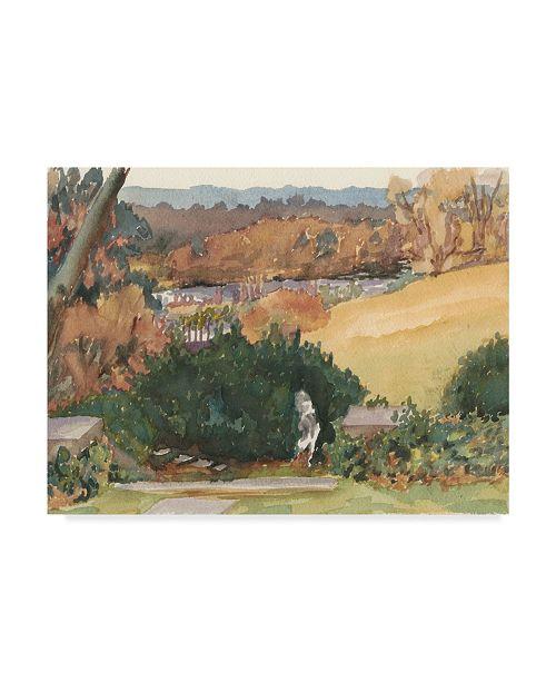 """Trademark Global Dianne Miller Watercolor Garden III Canvas Art - 37"""" x 49"""""""
