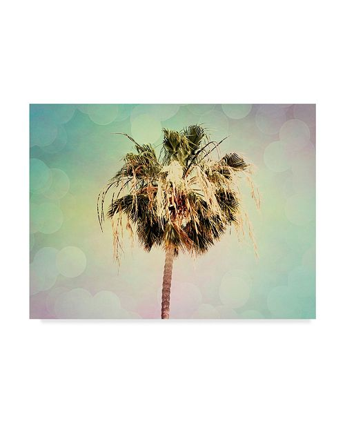 "Trademark Global Sylvia Coomes Palm Trees III Canvas Art - 20"" x 25"""