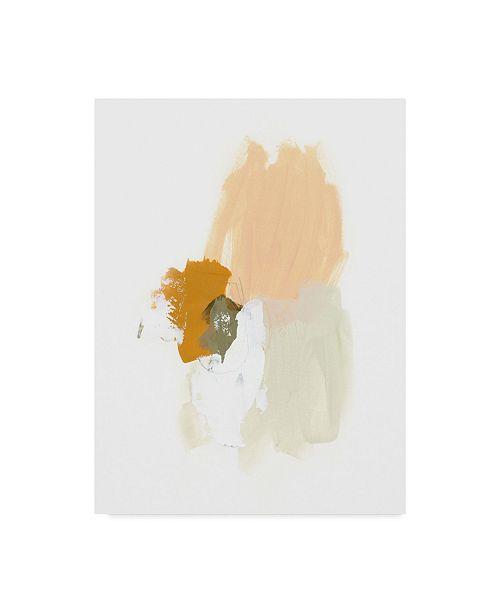 "Trademark Global June Erica Vess Understate I Canvas Art - 37"" x 49"""