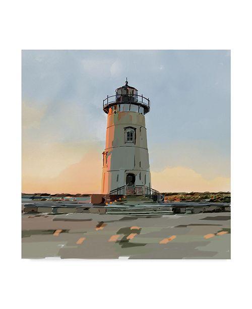 "Trademark Global Emily Kalina Lighthouse Scene I Canvas Art - 27"" x 33"""