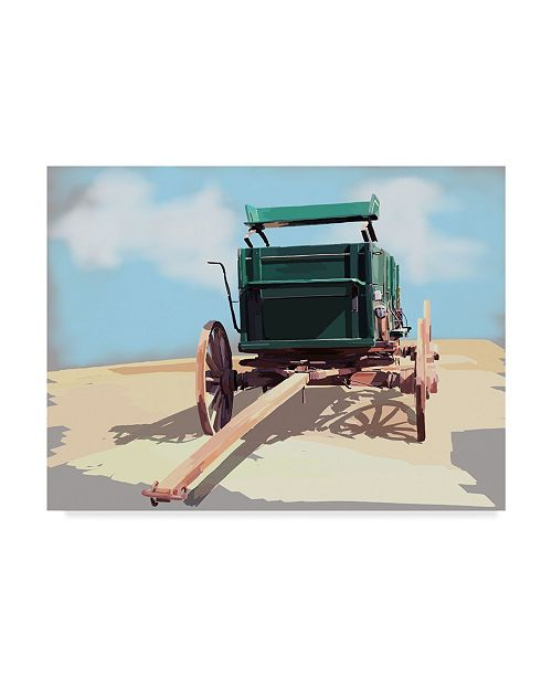 "Trademark Global Emily Kalina Bold Wagon II Canvas Art - 20"" x 25"""