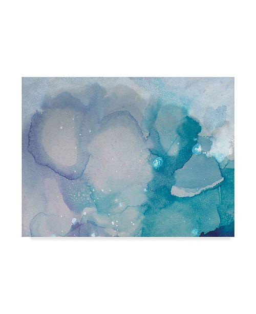 """Trademark Global Joyce Combs Ice Crystals I Canvas Art - 37"""" x 49"""""""
