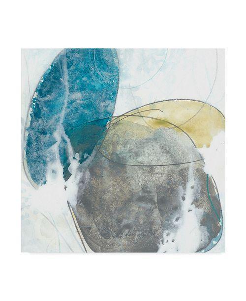 "Trademark Global June Erica Vess Stone Sweep II Canvas Art - 15"" x 20"""