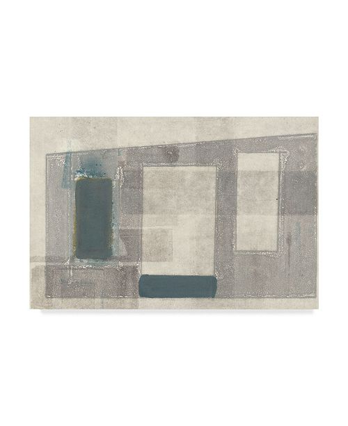 "Trademark Global Rob Delamater Piazza Canvas Art - 37"" x 49"""