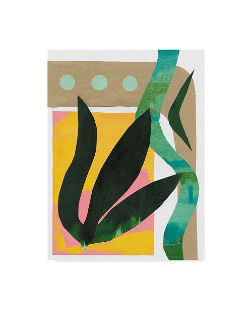 "Trademark Global Renee W. Stramel South Beach I Canvas Art - 37"" x 49"""