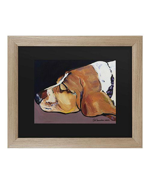 """Trademark Global Pat Saunders-White Farley Matted Framed Art - 37"""" x 49"""""""