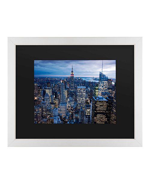 "Trademark Global Masters Fine Art New York City, Ny Matted Framed Art - 20"" x 25"""