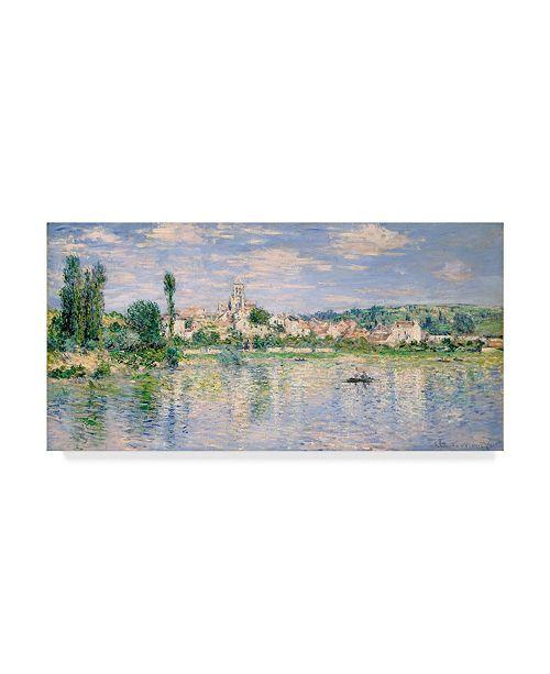 "Trademark Global Claude O. Monet Vetheuil in Summer Canvas Art - 15"" x 20"""
