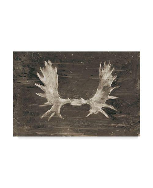 "Trademark Global Ethan Harper Rustic Moose Mount I Canvas Art - 15"" x 20"""