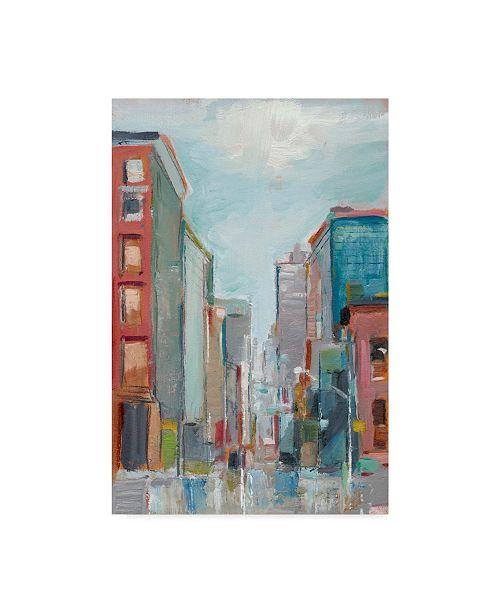 "Trademark Global Ethan Harper Downtown Contemporary II Canvas Art - 20"" x 25"""