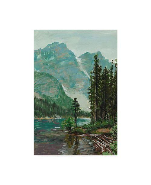 "Trademark Global Melissa Wang Mountainscape III Canvas Art - 15"" x 20"""