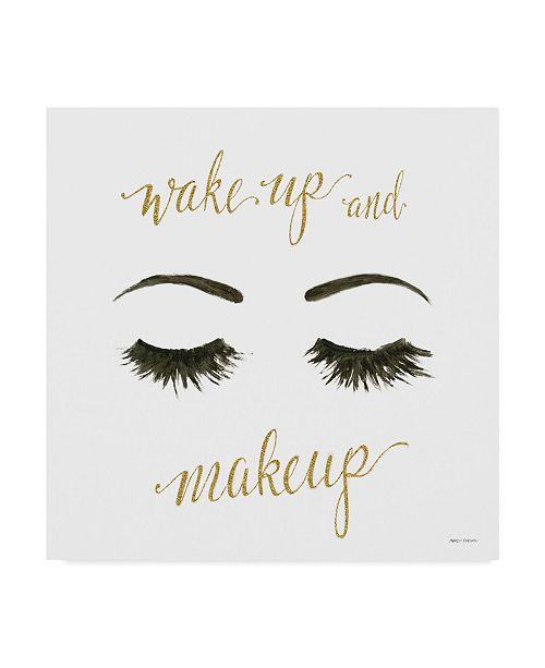"Trademark Global Marco Fabiano Wake Up and Make Up I Canvas Art - 20"" x 25"""