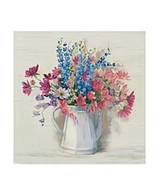 "Carol Rowan Ironstone Bouquet I Bright Canvas Art - 15"" x 20"""