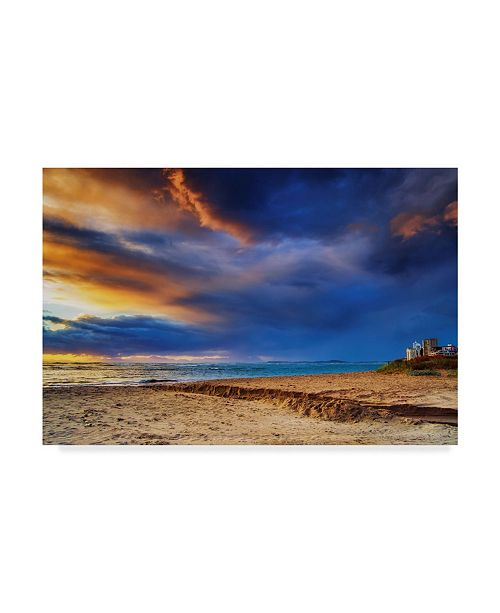 "Trademark Global Pixie Pics Sand Under Clouds II Canvas Art - 15"" x 20"""