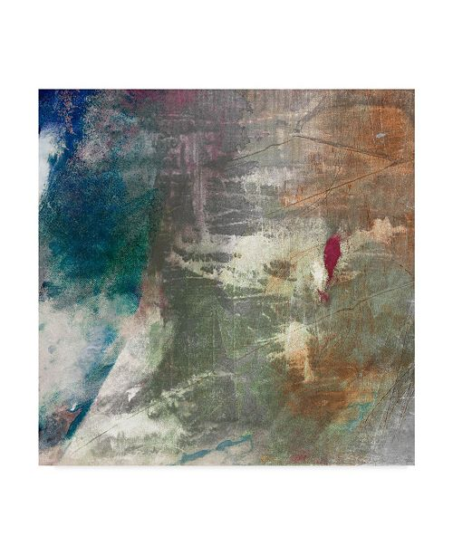 "Trademark Global Sisa Jasper Mod Abstract I Canvas Art - 27"" x 33"""