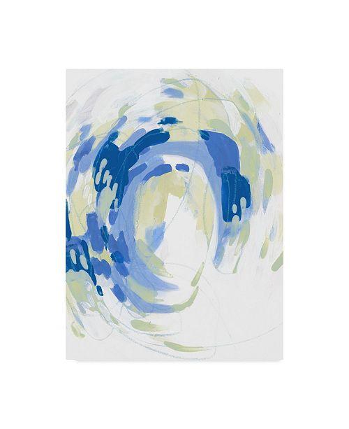 "Trademark Global June Erica Vess Ua Ch Sargasso II Canvas Art - 37"" x 49"""