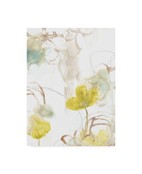 "Trademark Global June Erica Vess Floral Arc I Canvas Art - 20"" x 25"""