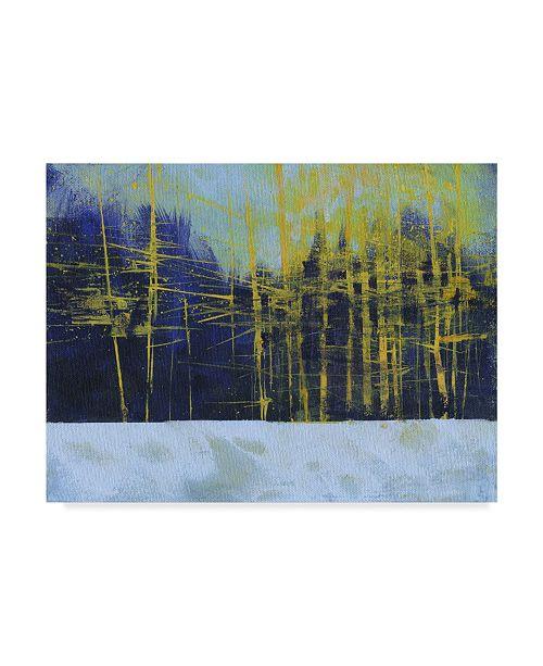 "Trademark Global Paul Bailey Golden Winter Pines Canvas Art - 20"" x 25"""
