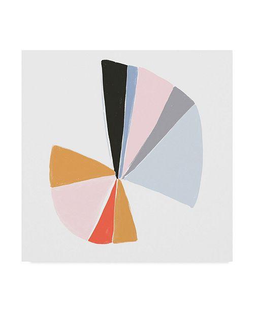 "Trademark Global June Erica Vess Color Wheel IV Canvas Art - 27"" x 33"""