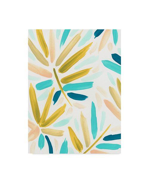 """Trademark Global June Erica Vess Calypso Confetti I Canvas Art - 15"""" x 20"""""""