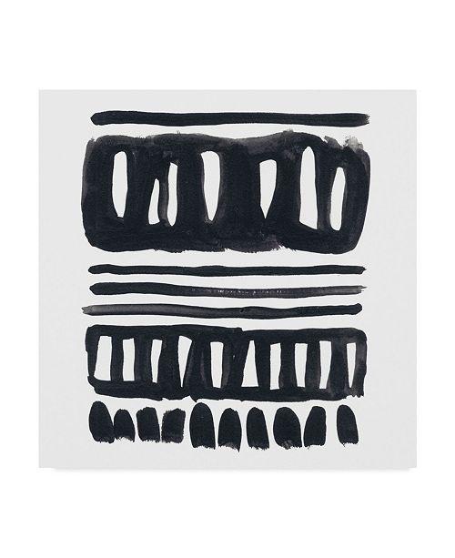 """Trademark Global June Erica Vess Weft II Canvas Art - 27"""" x 33"""""""