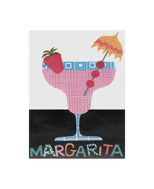 """Trademark Global Regina Moore Mix Me a Drink IV Canvas Art - 37"""" x 49"""""""
