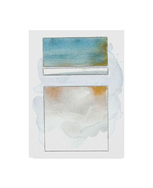 "Trademark Global Rob Delamater Pacific Horizon V Canvas Art - 20"" x 25"""