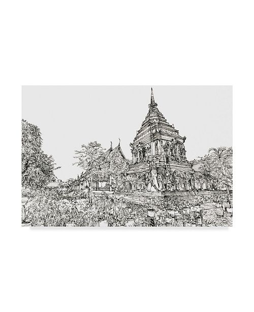 "Trademark Global Melissa Wang Chiang Mai I Canvas Art - 20"" x 25"""