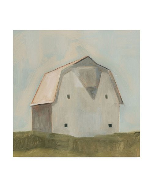 "Trademark Global Emma Scarvey Serene Barn II Canvas Art - 20"" x 25"""