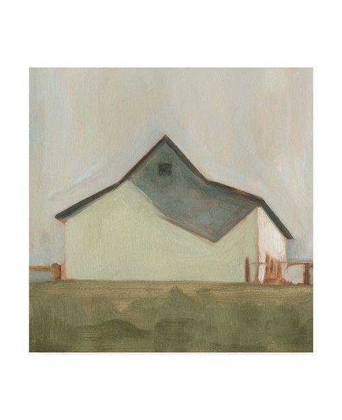 "Trademark Global Emma Scarvey Serene Barn V Canvas Art - 15"" x 20"""