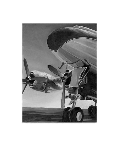 "Trademark Global Ethan Harper Aviation Icon II Canvas Art - 37"" x 49"""