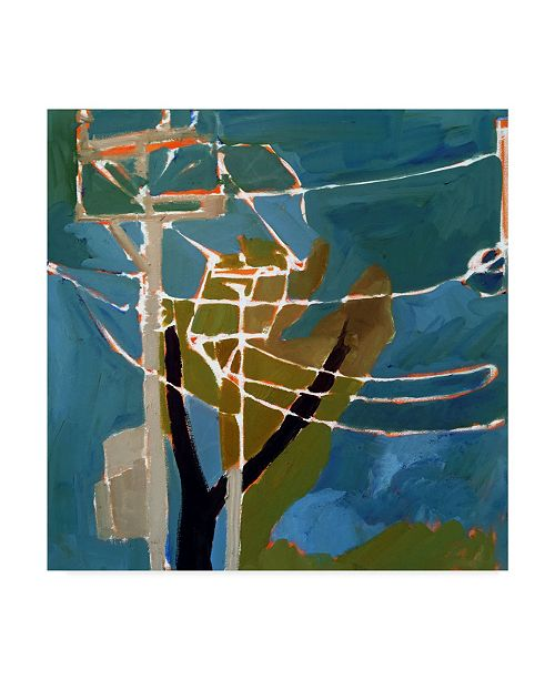 "Trademark Global Erin Mcgee Ferrell Trees & Wires VII Canvas Art - 15"" x 20"""