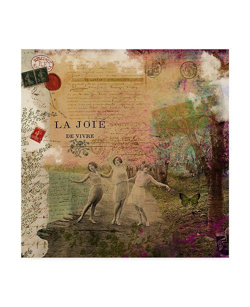 """Trademark Global Sandy Lloyd Femme Paris IX Canvas Art - 15"""" x 20"""""""