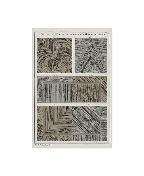 "Trademark Global Vision Studio Survey of Architectural Design VI Canvas Art - 20"" x 25"""